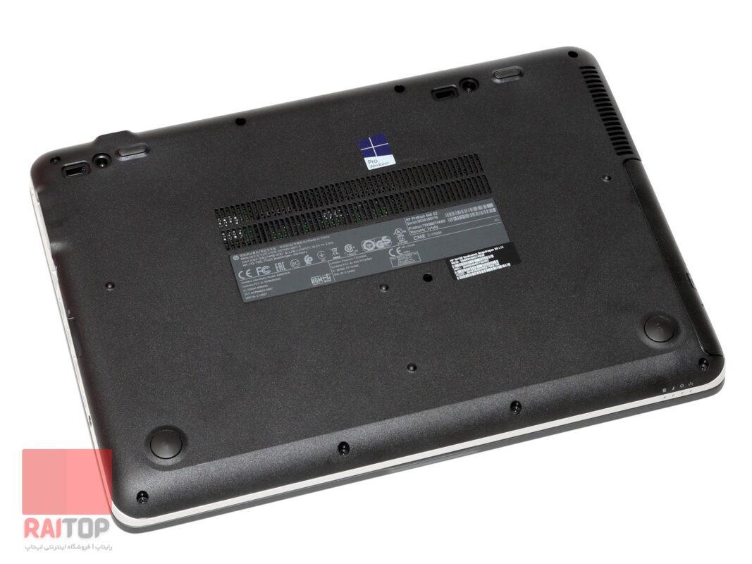 لپ تاپ استوک 14 اینچی HP مدل ProBook 640 G2 قاب زیر