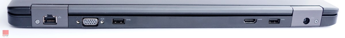 لپ تاپ استوک 15 اینچی Dell مدل Latitude E5550 پورت های پشت