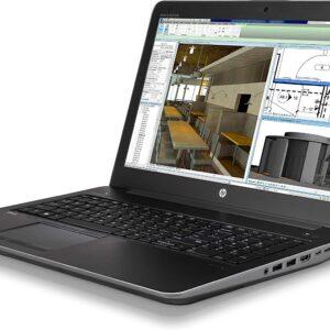 لپ تاپ استوک 15 اینچی HP مدل ZBook 15 G4 راست