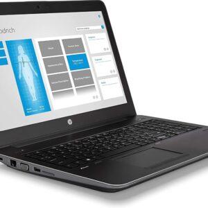 لپ تاپ استوک 15 اینچی HP مدل ZBook 15 G4 چپ