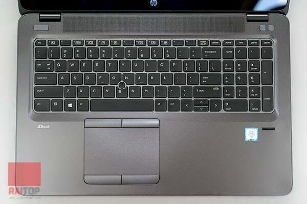 لپ تاپ استوک 15 اینچی HP مدل ZBook 15u G3 i7 صفحه کلید