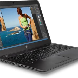 لپ تاپ استوک 15 اینچی HP مدل ZBook 15u G3 i7 چپ
