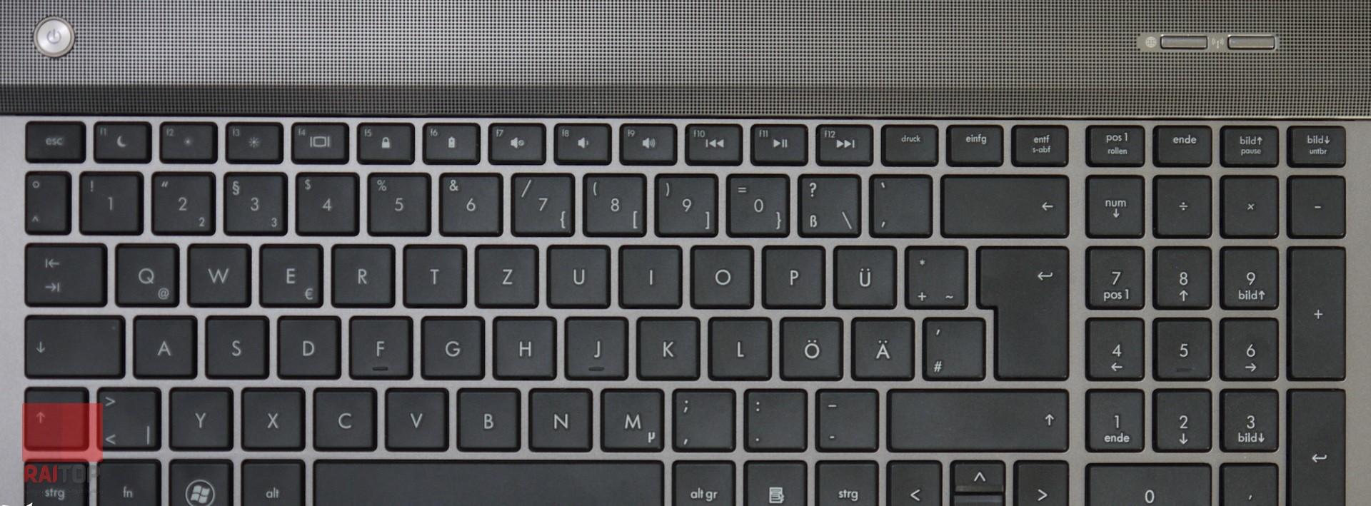 لپ تاپ استوک 17 اینچی HP مدل ProBook 4740s صفحه کلید