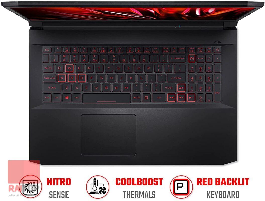 لپ تاپ اپن باکس 15 اینچی Acer مدل Nitro 5 an515-55 i7 بالا ۲