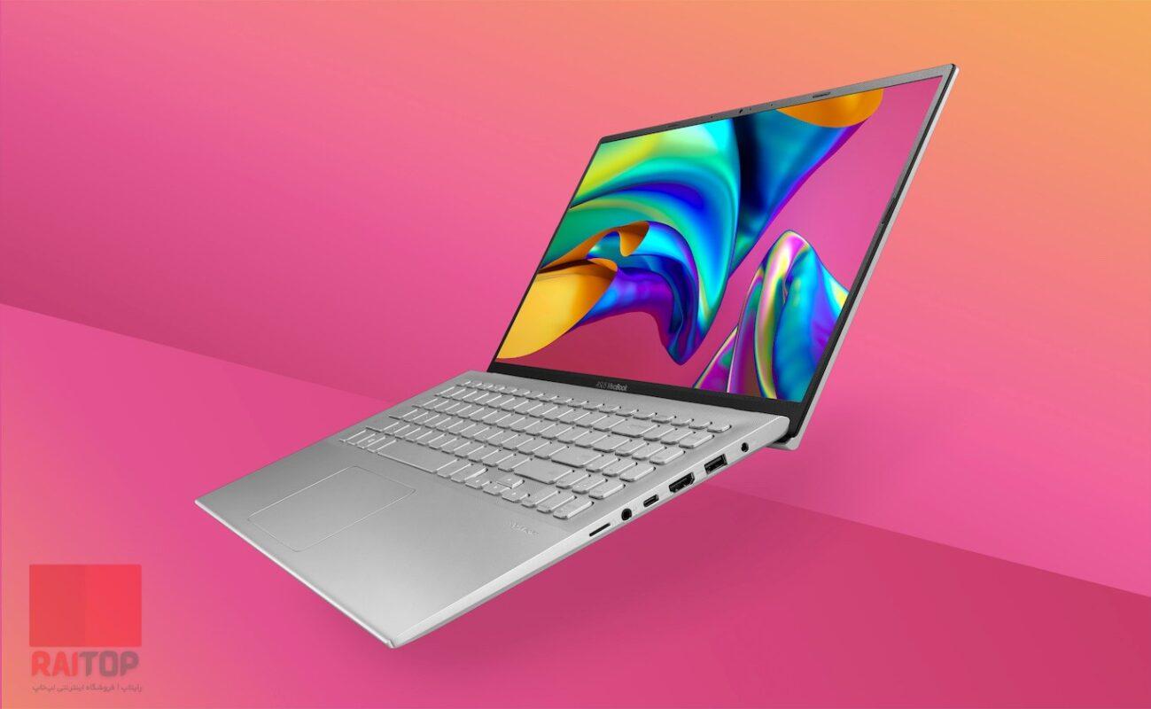 لپ تاپ اپن باکس 15 اینچی Asus مدل VivoBook 15 X512DA زاویه باز