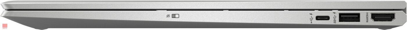 لپ تاپ اپن باکس 15 اینچی Hp مدل ENVY x360 Convertible 15-dr1 پورت های راست