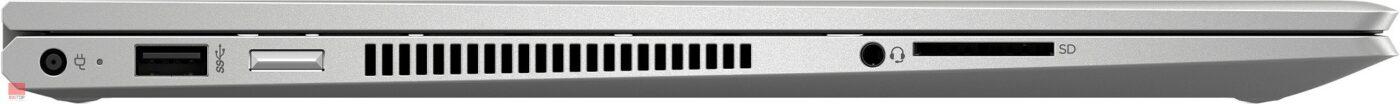 لپ تاپ اپن باکس 15 اینچی Hp مدل ENVY x360 Convertible 15-dr1 پورت های چپ