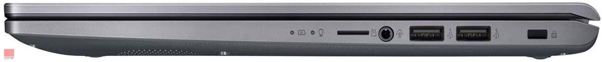 لپ تاپ 15 اینچی ASUS مدل VivoBook X509J i7 پورت های راست