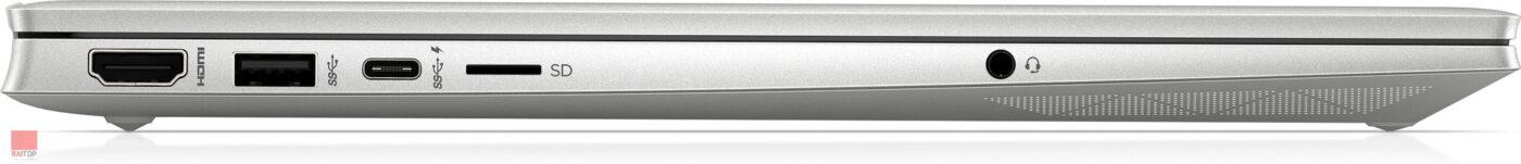 لپ تاپ 15.6 اینچی HP مدل Pavilion 15-eg0 پورت های چپ