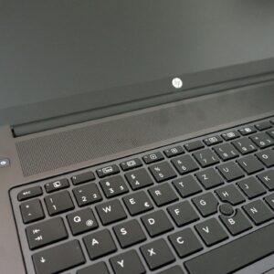 لپ تاپ 17 اینچی HP مدل ZBook 17 G3 صفحه کلید 1