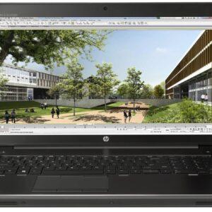 لپ تاپ 17 اینچی HP مدل ZBook 17 G3 مقابل