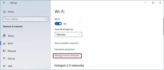 اتصال به وای فای در ویندوز 10 لپ تاپ