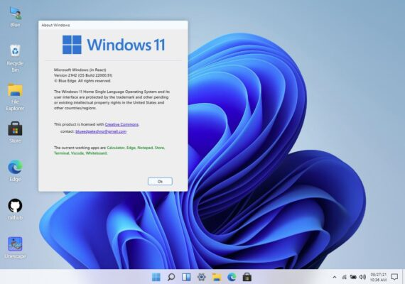 windows 11 in browser