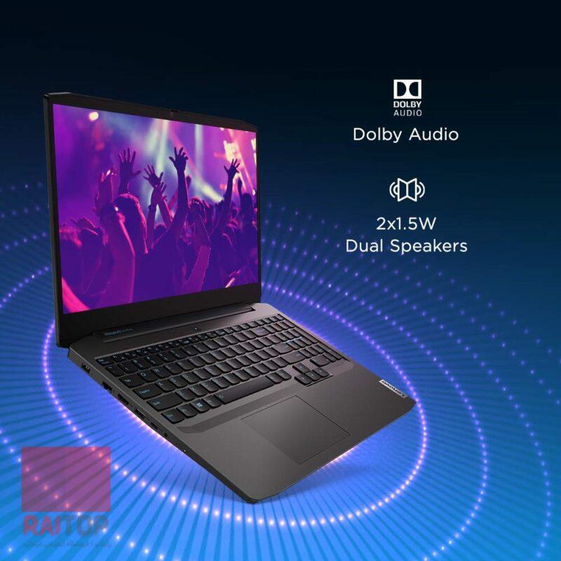 لپ تاپ گیمینگ 15.6 اینچ Lenovo مدل IdeaPad Gaming 3 Ryzen 5 بلندگوها