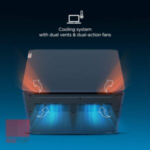 لپ تاپ گیمینگ 15.6 اینچ Lenovo مدل IdeaPad Gaming 3 Ryzen 5 خنک کننده