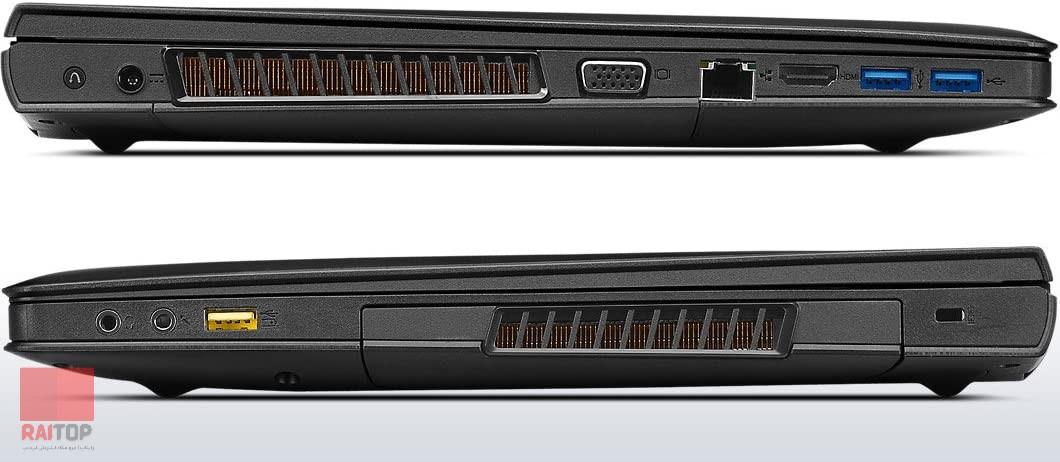 لپ تاپ استوک گیمینگ Lenovo مدل IdeaPad Y510p پورت ها