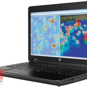 لپ تاپ استوک HP مدل ZBOOK 15 G2 i7 Workstation رخ راست
