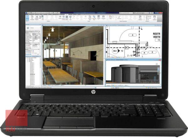 لپ تاپ استوک HP مدل ZBOOK 15 G2 i7 Workstation مقابل