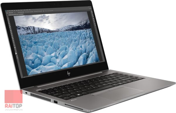 لپ تاپ اپن باکس ورک استیشن HP مدل ZBook 14u G6 رخ چپ
