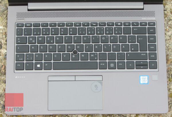 لپ تاپ اپن باکس ورک استیشن HP مدل ZBook 14u G6 صفحه کلید