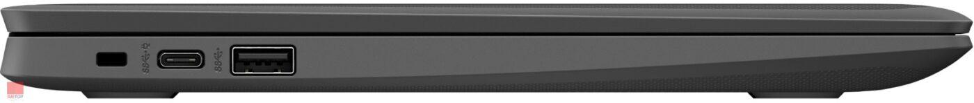لپ تاپ اپن باکس کروم بوک HP مدل Chromebook 11 G8 EE پورت های چپ
