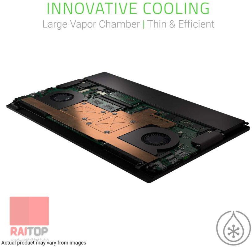 لپ تاپ اپن باکس گیمینگ ریزر بلید Razer Blade 15 خنک کننده