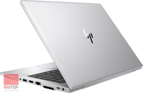 لپ تاپ اپن باکس 13 اینچی لمسی HP مدل EliteBook 830 G6 i5 راست پشت