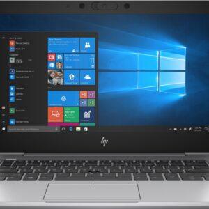 لپ تاپ اپن باکس 13 اینچی لمسی HP مدل EliteBook 830 G6 i5 مقابل