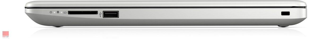 لپ تاپ اپن باکس 15 اینچی HP مدل 15-db0046au پورت های راست