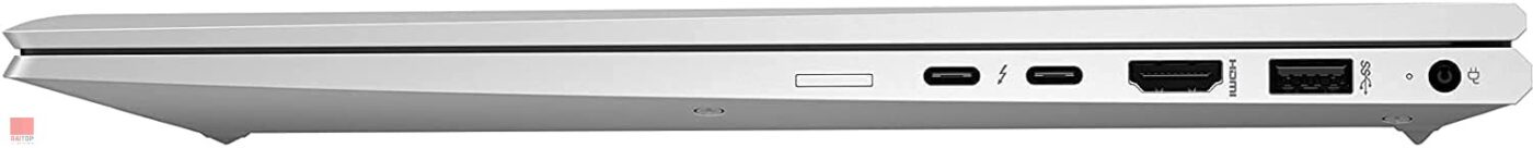 لپ تاپ اپن باکس 15 اینچی HP مدل Elitebook 850 G7 پورت های راست