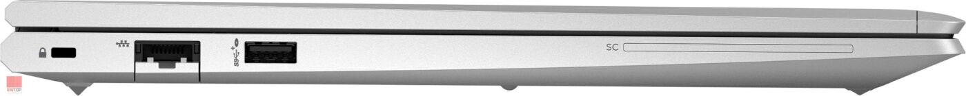 لپ تاپ اپن باکس 15 اینچی HP مدل ProBook 650 G8 i5 پورت های چپ