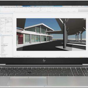 لپ تاپ اپن باکس 15 اینچی HP مدل ZBook 15u G6 i7 مقابل