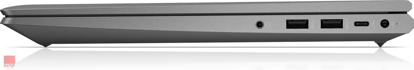 لپ تاپ اپن باکس 15.6 اینچی HP مدل ZBook Power G7 پورت های راست