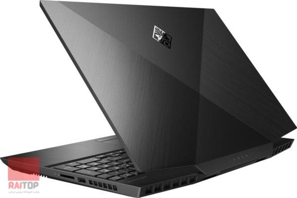 لپ تاپ گیمینگ 15 اینچی اپن باکس HP مدل 15-dc10 i7-9750H پشت راست