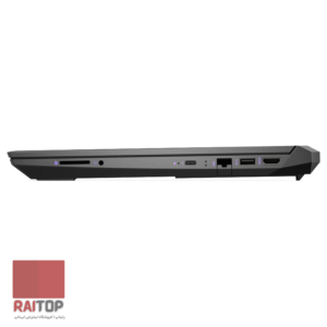لپ تاپ گیمینگ 15 اینچی HP مدل Pavilion Gaming - 15-ec0106a پورت های راست
