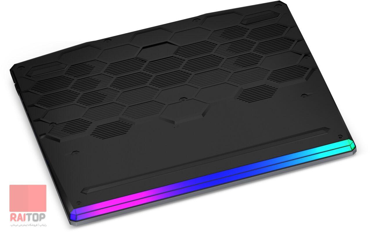 لپ تاپ گیمینگ 15 اینچی MSI مدل GE66 Raider 10A i7 قاب زیرین