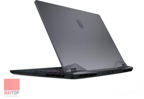 لپ تاپ گیمینگ 15 اینچی MSI مدل GE66 Raider 10A i7 پشت راست