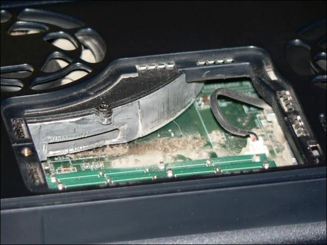 باز کردن پنل لپ تاپ