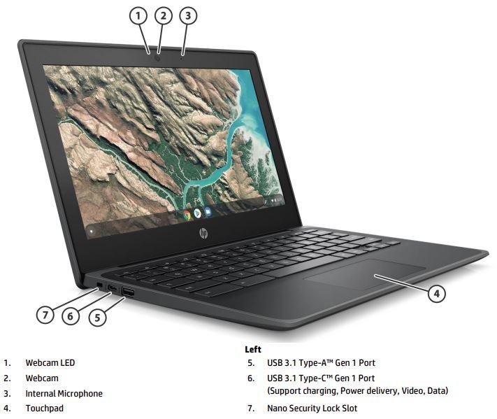 Chromebook 11 G8 EE