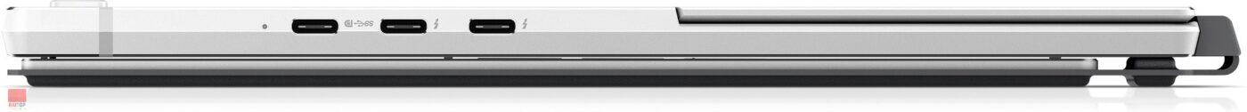 تبلت HP مدل Elite x2 G4 i5 به همراه کیبرد پورت های راست