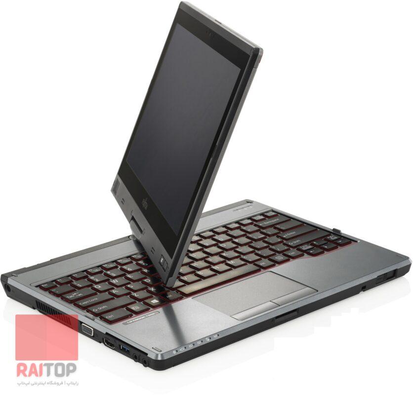 لپ تاپ استوک چرخشی Fujitsu مدل Lifebook T725 لمسی چرخش