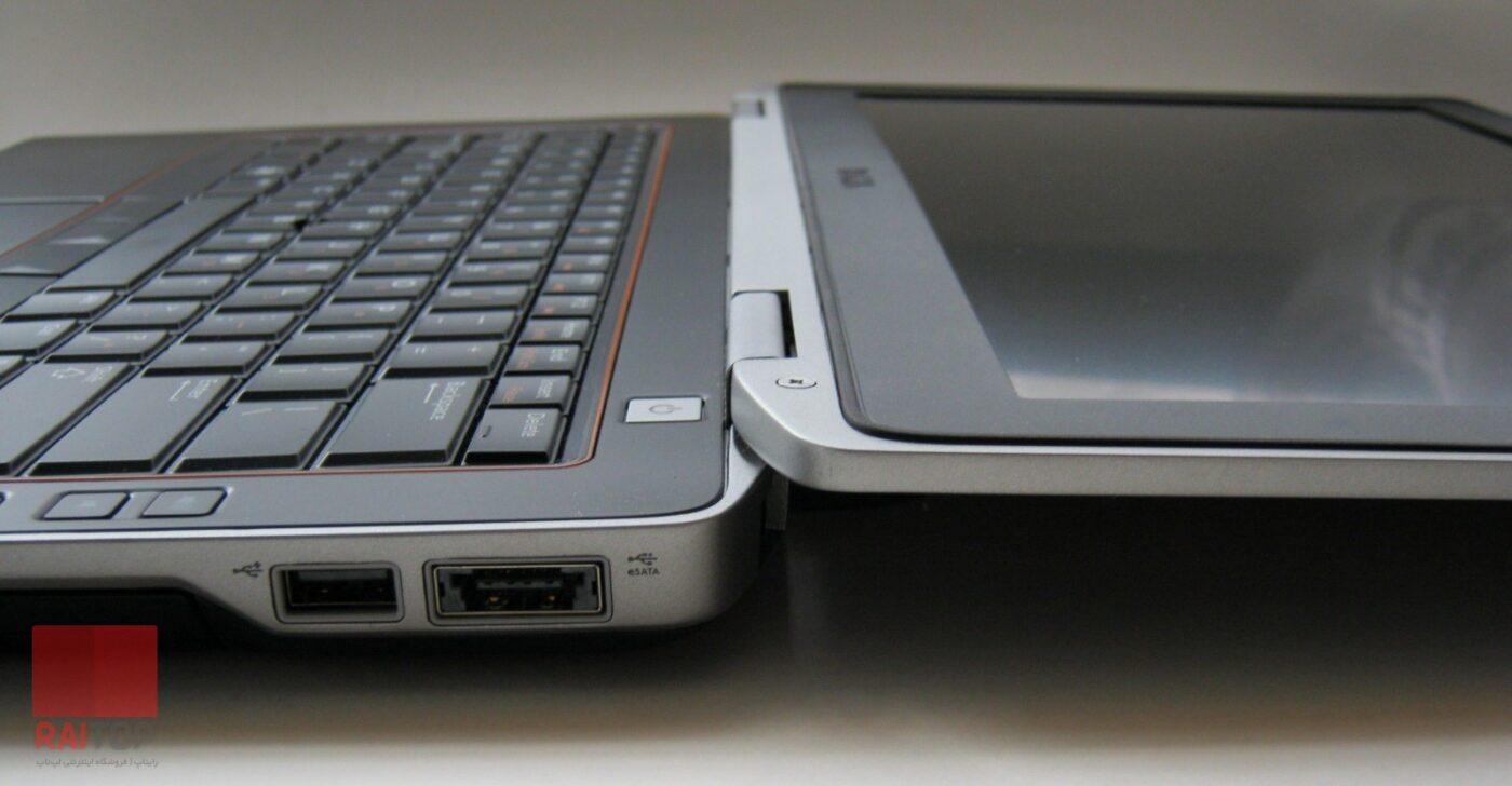 لپ تاپ استوک 13.3 اینچی Dell مدل Latitude E6320 i3 زاویه باز