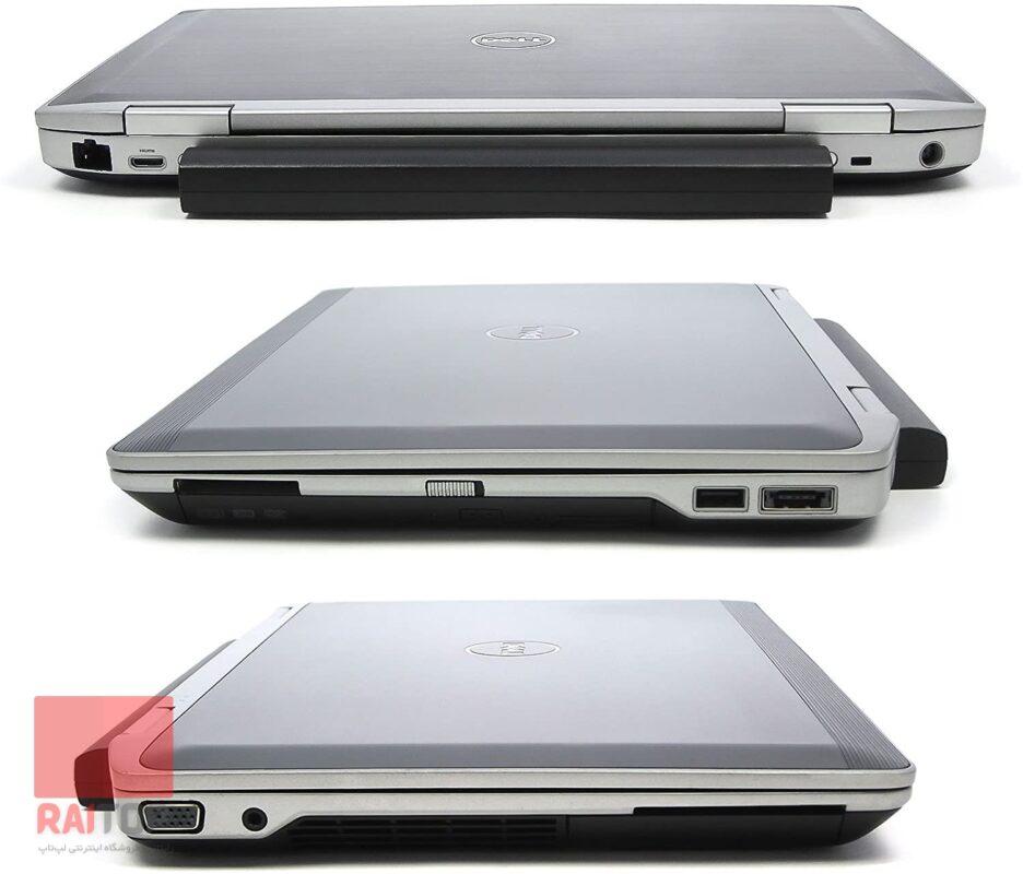لپ تاپ استوک 13.3 اینچی Dell مدل Latitude E6320 i3 پورت ها و اتصالات