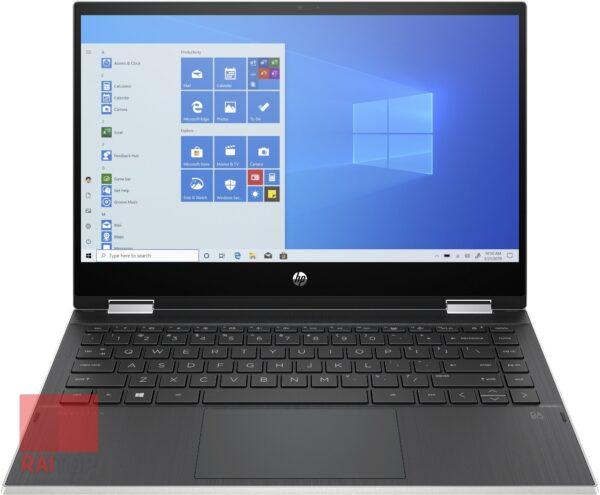 لپ تاپ استوک 14 اینچی چرخشی HP مدل Pavilion x360 14m-dw1 نسل 11 مقابل