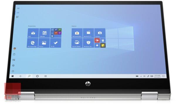 لپ تاپ استوک 14 اینچی چرخشی HP مدل Pavilion x360 14m-dw1 نسل 11 نمایشگر