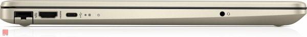 لپ تاپ اپن باکس 15 اینچی HP مدل 15-dw0004no i7 پورت های چپ