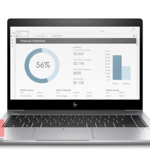 لپ تاپ اپن باکس HP مدل EliteBook x360 1030 G3 i5 مقابل
