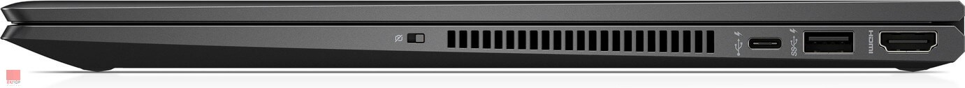 لپ تاپ 15 اینچی HP مدل ENVY x360 -15-ds پورت های راست