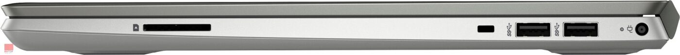 لپ تاپ 15 اینچی HP مدل Pavilion - 15-cw0014au پورت های راست