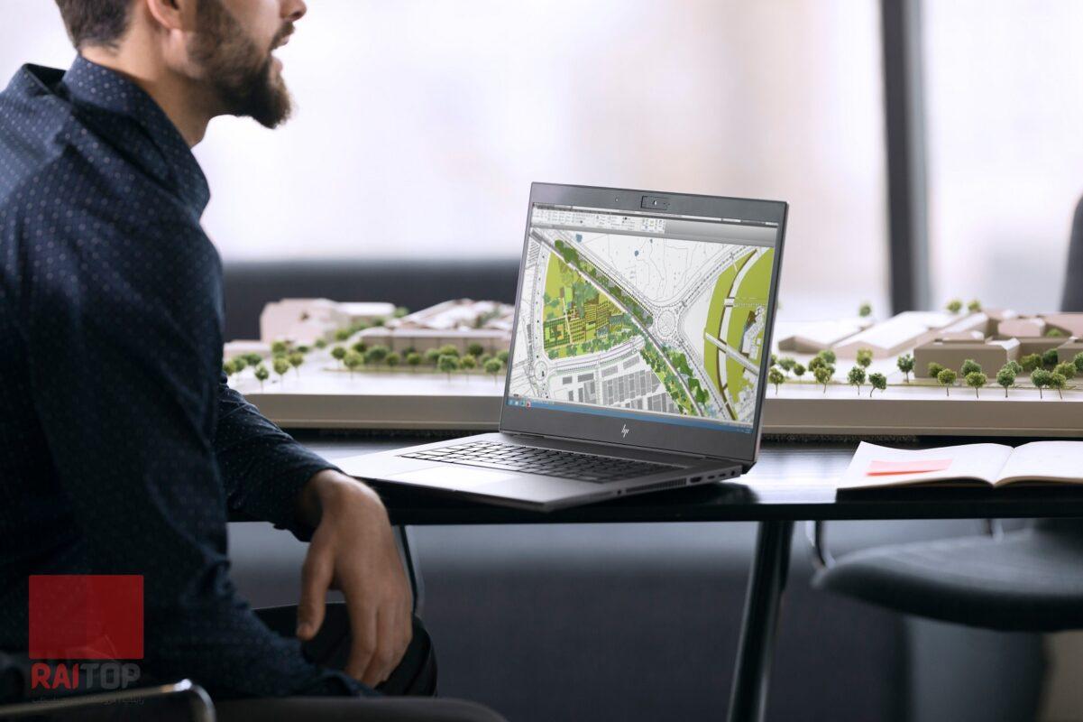 لپ تاپ 15 اینچی HP مدل ZBook 15 Studio G5 Workstation - i7 بنر